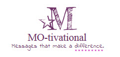 MOtivational message logo